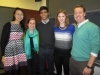 Former Fellows at Interviews 2014 - Jane Y, Adrienne C, Abhit B, Meredith R, and Oliver B