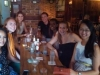 PiAf happy hour in DC. From left to right: Luwam Berhane, Stephanie Rapp, Corinne Stephenson, Chris Suzdak, Beza Tesfaye, Adrienne Clermont, Jane Yang.