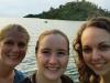 Atencio_Audrey Merrifield_Becca and Morris_Lorna at Lake Kivu in Kibuye Rwanda_compressed