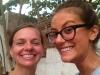 Liz Braden and Violette Perrotte in Dakar