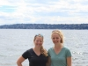 Theresa Laverty and Laura Budd in Seattle