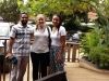 Yash Gharat with Audrey Atencio & Olivia Woldemikael in Kampala