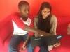 Hassanali_Khadija with co worker at mSurvey