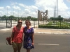 Allyse McGrath and Alex Hellmuth in Lome