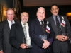 Co-Founders and Jim Robinson with award at 2014 gala