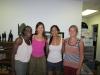 PiAf Staff Stephanie, Agatha and Liz welcome Amanda Ramcharan (2011-2012 Fellow) to the PiAf office in Princeton.