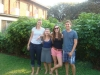 Erin (Fellow 2011-2012), Kate (Fellow 2012-2013) & Mark (Fellow 2011-2012) catch up in Lusaka, – a meeting of two generations of Zambia fellows!