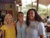 Carter_Mikia and Chang_Lauren meeting alum Eger_Kate in Nairobi