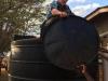 Goldstein_Bear water collection at Nyumbani