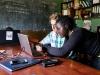 Manta_Zach doing work at Kasiisi