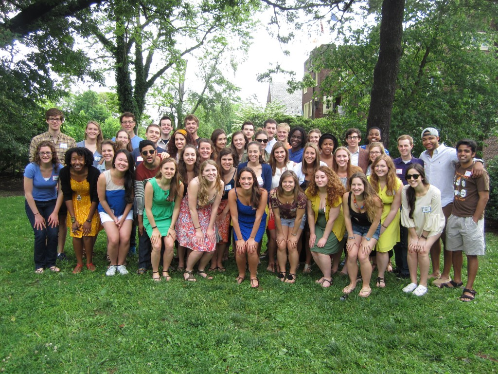 Princeton in Africa's 2013-14 fellowship class