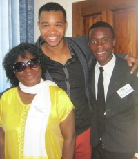 Gordon Taylor 2013-14 Fellow Kucetekela Foundation (with Florence and Nathan)