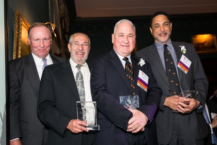 Co-Founders and Jim Robinson at 2014 Gala