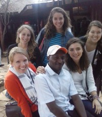 Camille Pendley with other 2014-15 Fellows IRC Kenya