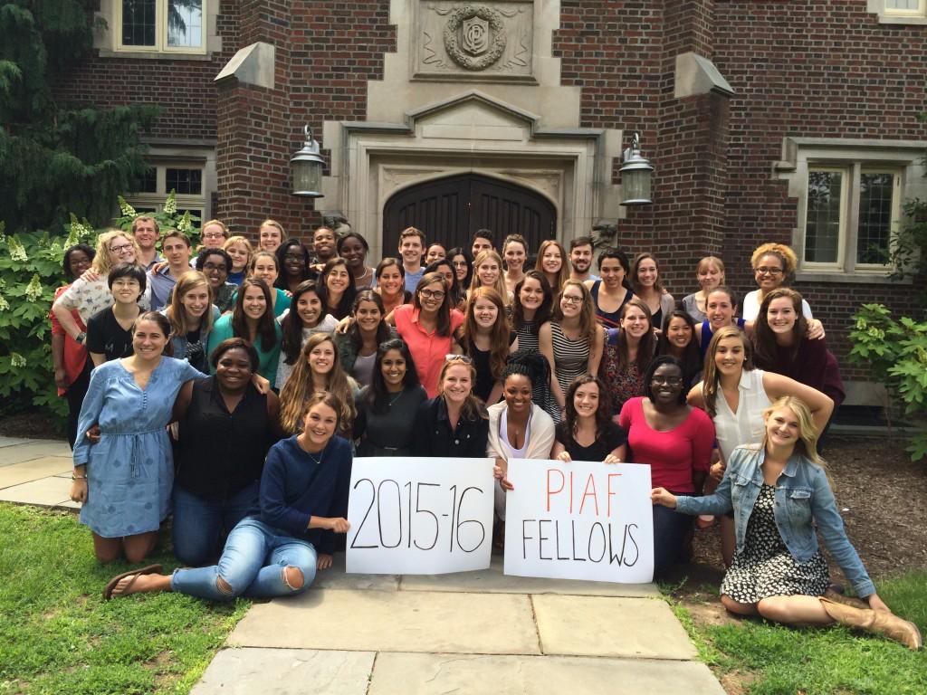 2015-16 Fellows' Orientation Group Photo