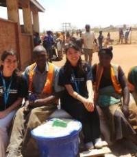 Jasmin Yu and Erin Collins 2015-16 Fellows WFP Malawi