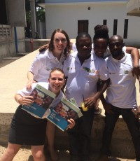 Emma Sakson 2015-16 Fellow CCBRT Tanzania