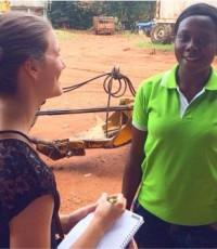 Allie Stauss 2014-15 Fellow ACA Ghana